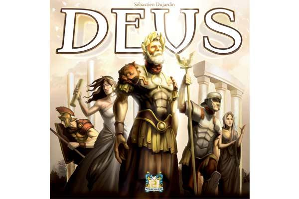 Brettspiel Deus - Foto von Pearl Games
