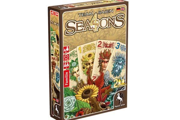 Kartenspiel 4 Seasons - Foto von Pegasus Spiele