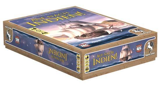 Gesellschaftsspiel Auf nach Indien! - Foto von Pegasus Spiele