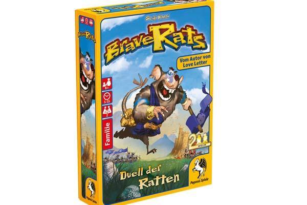 Kartenspiel Brave Rats - Foto von Pegasus Spiele