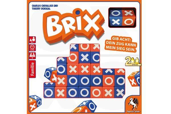 Gesellschaftsspiel Brix - Foto von Pegasus Spiele