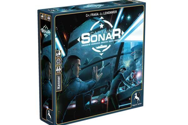 Captain Sonar - Foto von Pegasus Spiele