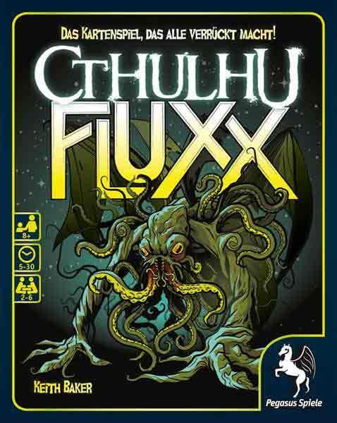 Cthulhu Fluxx - Gesellschaftsspiel - Foto von Pegasus Spiele