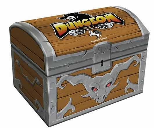 Fantasy-Spiel Dungeon Roll - Foto von Pegasus Spiele