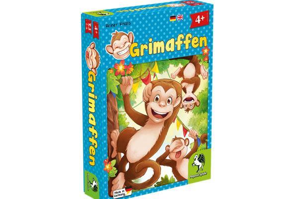 Grimaffen - Kinderspiel - Foto von Pegasus Spiele