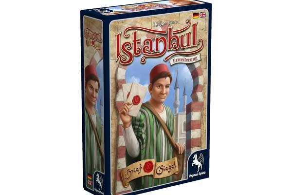 Istanbul-Erweiterung: Brief & Siegel - Foto von Pegasus Spiele