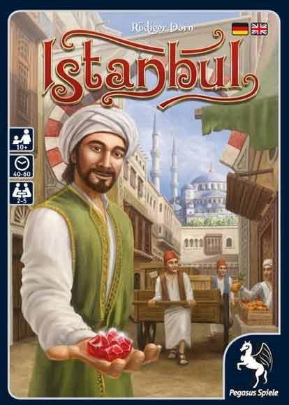 Gesellschaftsspiel für Kenner - Istanbul - Foto von Pegasus Spiele