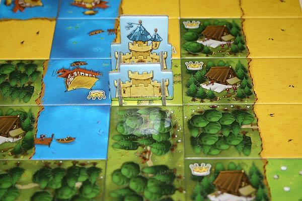 Legespiel Kingdomino - Foto von Reich der Spiele