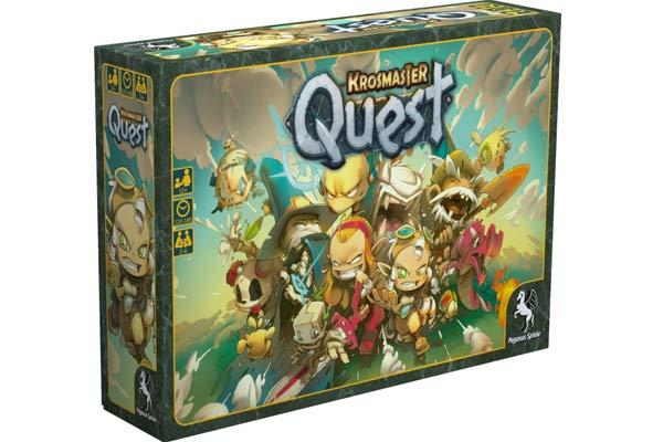 Krosmaster Quest Spieleschachtel - Foto von Pegasus Spiele
