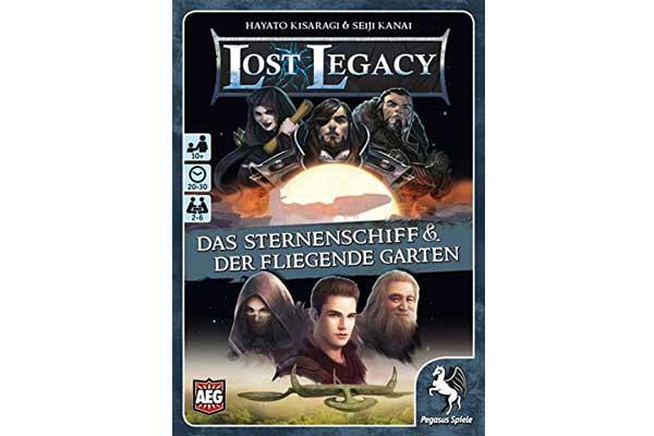 Kartenspiel Lost Legacy - Foto von Pegasus Spiele
