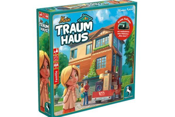 Gesellschaftsspiel Mein Traumhaus - Foto von Pegasus Spiele