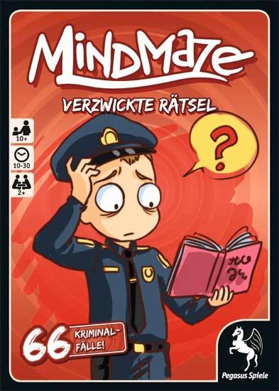 MindMaze - 66 Kriminalfälle - Foto von Pegasus Spiele