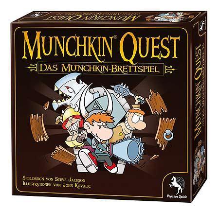Munchkin Quest - Das Munchkin-Brettspiel von Pegasus Spiele