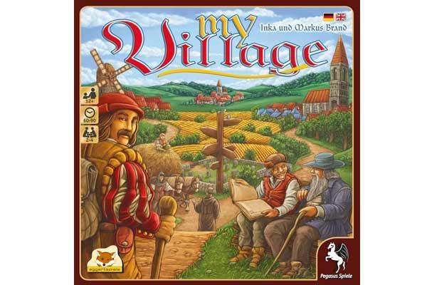 My Village - Brettspiel - Foto von eggertspiele/Pegasus Spiele