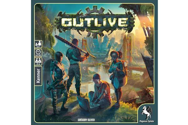 Brettspiel Outlive - Foto von Pegasus Spiele