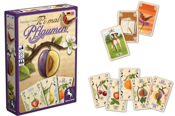 Kartenspiel Pi mal Pflaumen - Fotos von Pegasus Spiele