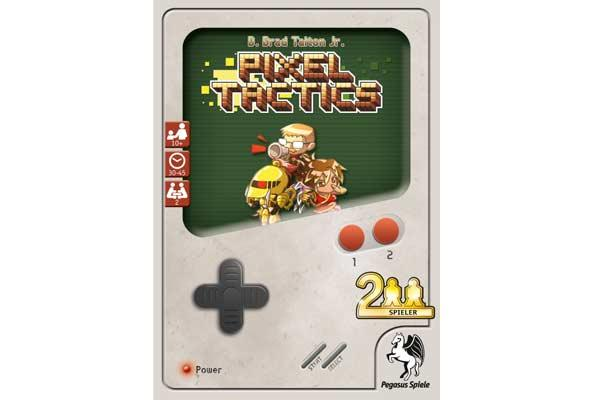 Pixel Tactics Spielschachtel - Foto von Pegasus Spiele