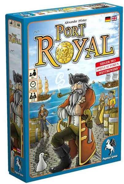 Gesellschaftsspiel Port Royal - Foto von Pegasus