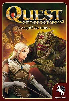 Quest: Angriff der Orks von Pegasus Spiele