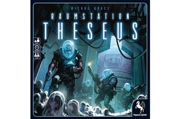 Brettspiel Raumstation Theseus - Foto von Pegasus Spiele
