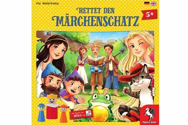 Rettet den Märchenschatz - 2016 - Foto von Pegasus Spiele