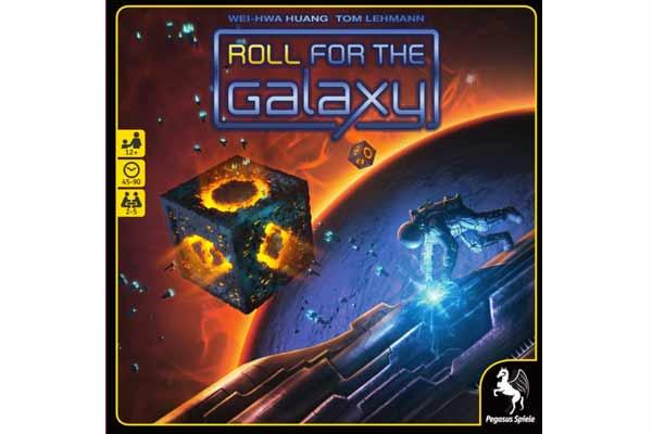 Roll For The Galaxy - Foto von Pegasus Spiele