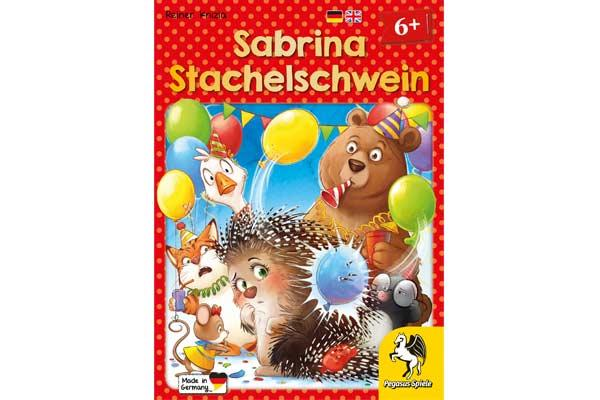 Kinderspiel Sabrina Stachelschwein - Foto von Pegasus Spiele