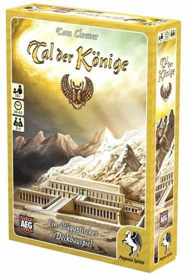 Gesellschaftsspiel Tal der Könige - Foto von Pegasus Spiele