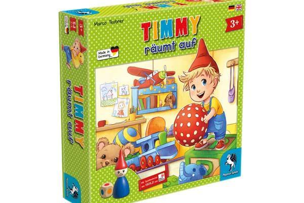 Kinderspiel Timmy räumt auf - Foto von Pegasus Spiele