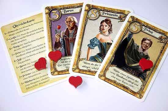 Kartenspiel Love Letter - Foto von Reich der Spiele