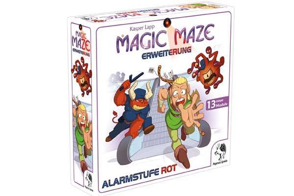 Magic Maze - Erweiterung: Alarmstufe Rot - Foto von Pegasus Spiele