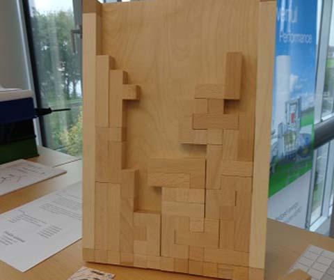 Knobelspiel Pentris - Foto von Penta Games