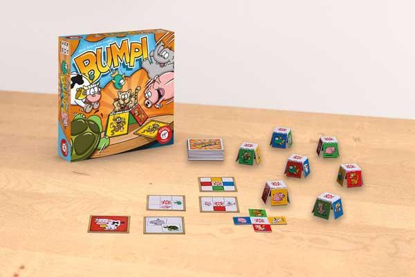 Bumpi - Kinderspiel - Foto von Piatnik