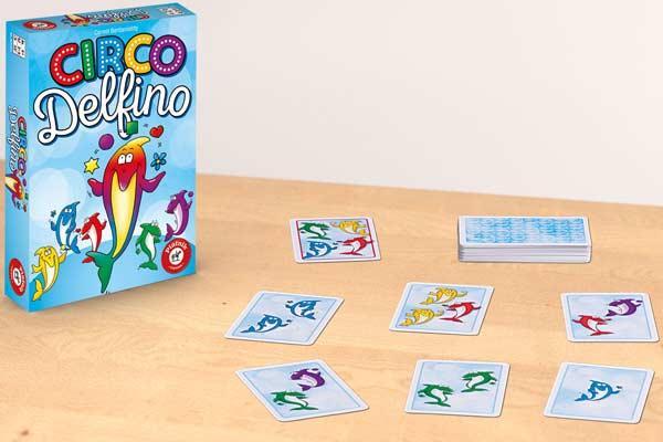 Kinderspiel Circo Delfino - Foto von Piatnik