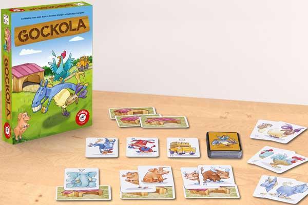 Kinderspiel Gockola - Foto vopn Piatnik