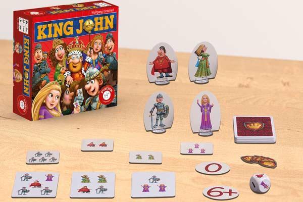 King John - Foto von Piatnik