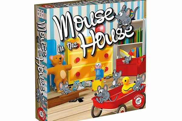 Mouse in the House - Foto von Piatnik