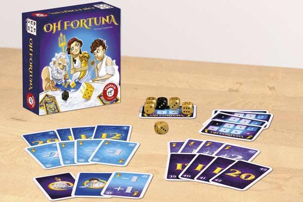 Gesellschaftsspiel Oh Fortuna - Foto von Piatnik