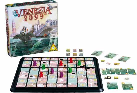 Brettspiel Venezia 2099 - Foto von Piatnik