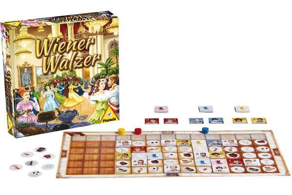 Brettspiel Wiener Walzer - Foto von Piatnik