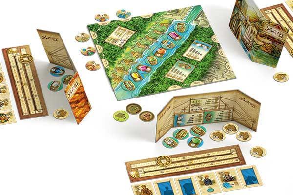 Brettspiel Yangtze - Foto von Piatnik