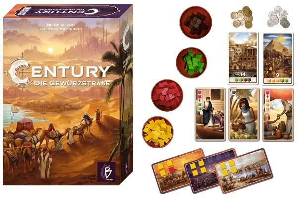 Century - Die Gewürzstraße - Foto von Plan B Games - Abacusspiele