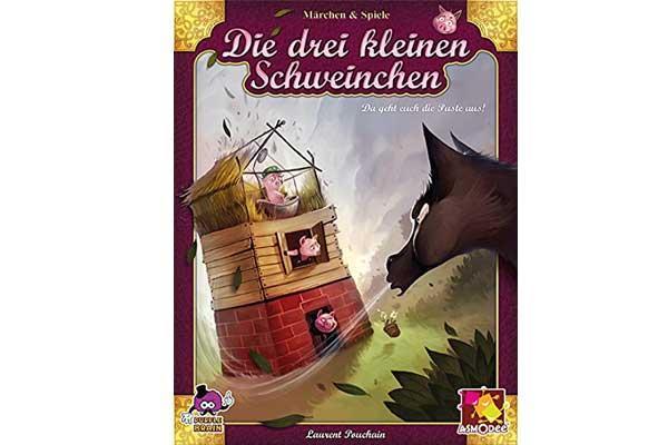 Kinderspiel Die drei kleinen Schweinchen - Foto von Asmodee