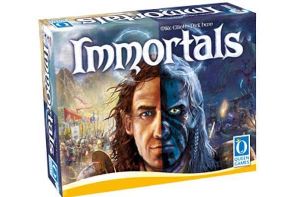 Brettspiel Immortals - Foto von Queen Games
