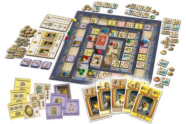 Gesellschaftsspiel Luxor - Foto von Queen Games