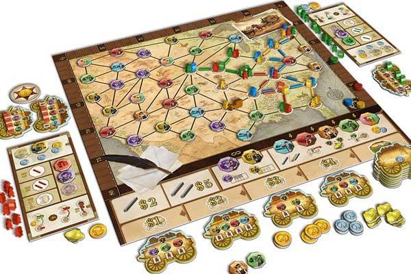 Brettspiel Pioneers - Foto von Queen Games