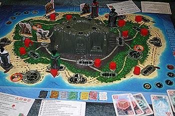Die Insel von Reich der Spiele