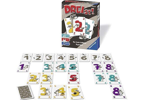 Kartenspiel Dreist - Foto von Ravensburger
