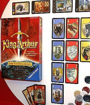 King Arthur - Das Kartenspiel von Reich der Spiele