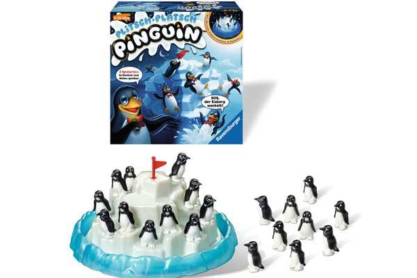 Plitsch Platsch Pinguin - Kinderspiel von Ravensburger